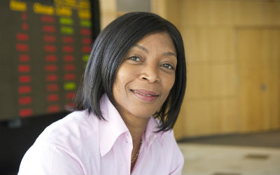 Nonkululeko Nyembezi-Heita, . CEO, ArcelorMittal, Photo via the Grio