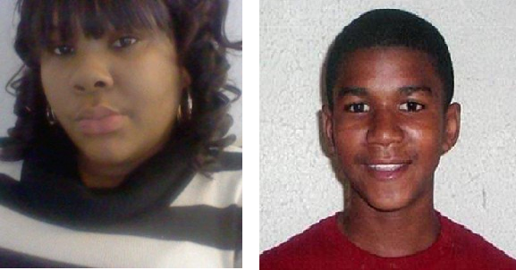 Rekia Boyd and Trayvon Martin