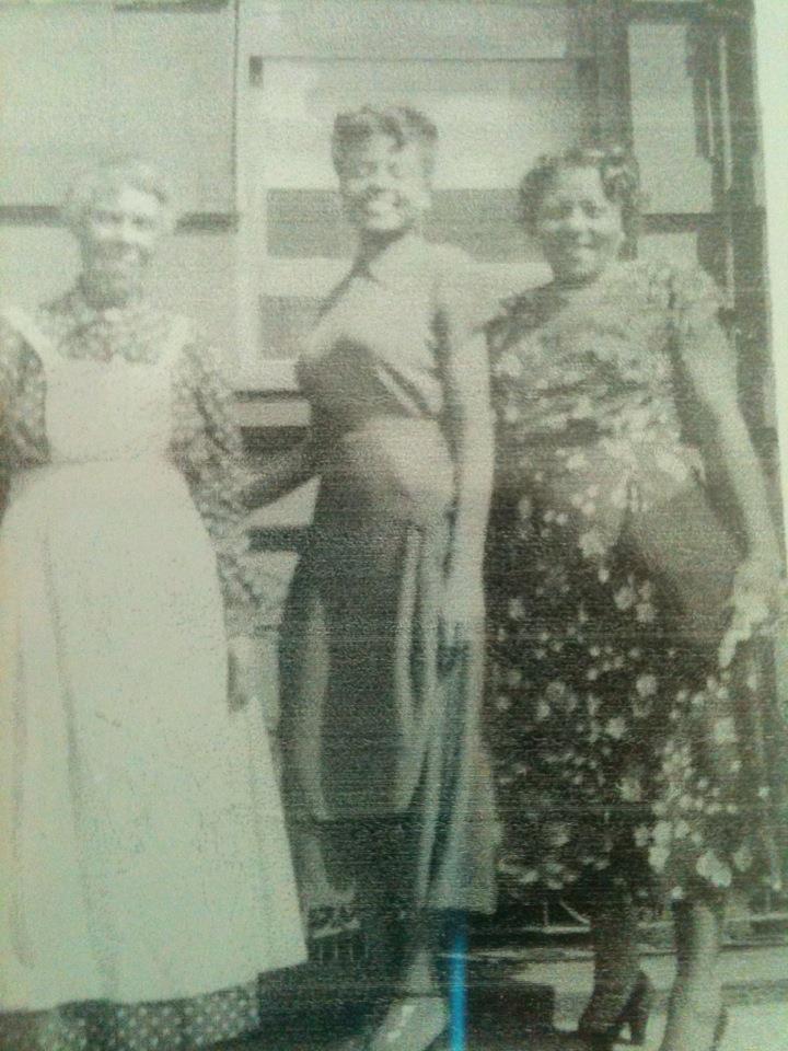 Big Momma, my grandma and momma Gert.