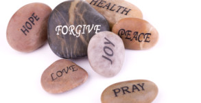 forgive joy peace stones