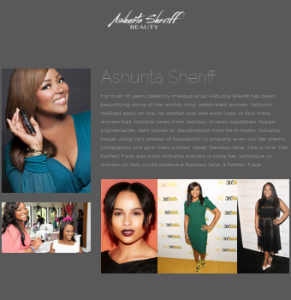 Ashunta Sheriff (Celebrity Makeup Artist)