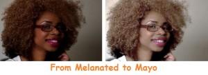melanted to mayo